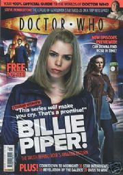 Doctor Who Magazine #396 Free Poster Panini Comics